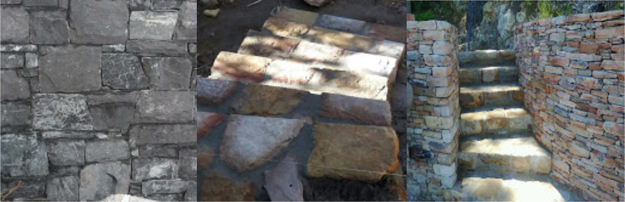 We are a Cape Town based company that specialises in natural stonework construction
